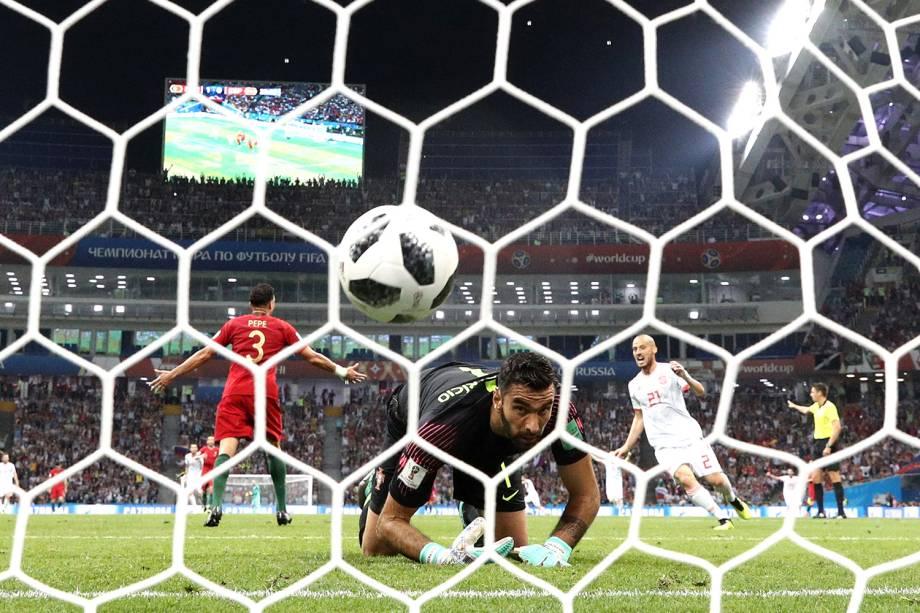 Espanha marca seu primeiro gol - 15/06/2018