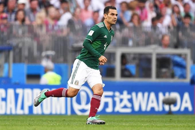 O jogador Rafael Márquez, do México