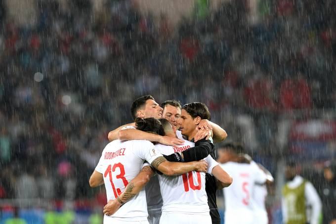 Copa do Mundo – Sérvia vs Suíça