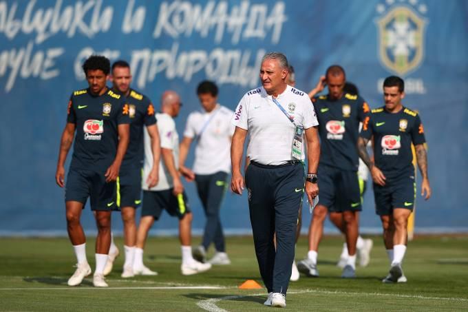 Treino da seleção brasileira e Sochi