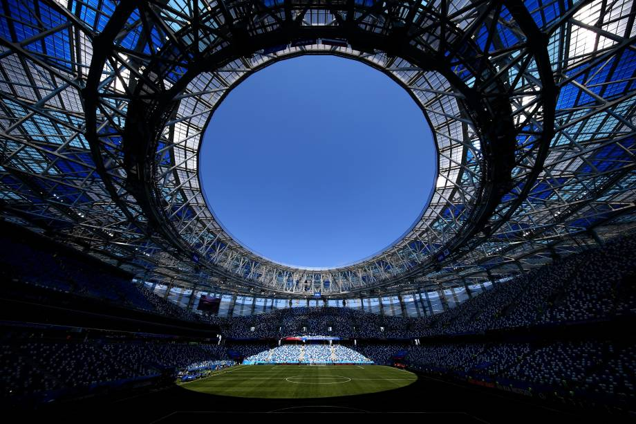Estádio de Níjni Novgorod recebe Suécia e Coreia do Sul nesta segunda