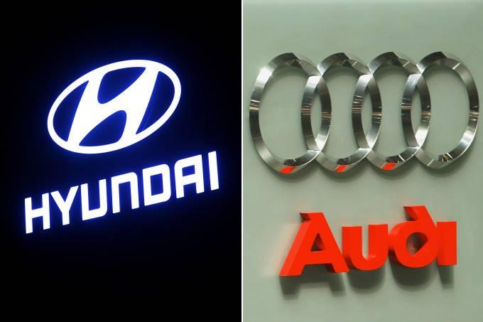 Hyundai e Audi