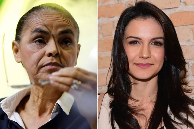Marina Silva e Kyra Gracie