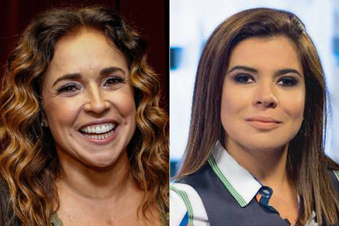 Daniela Mercury e Mara Maravilha