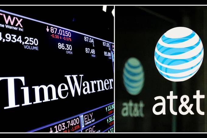 Fusão entre as empresas Time Warner e AT&T