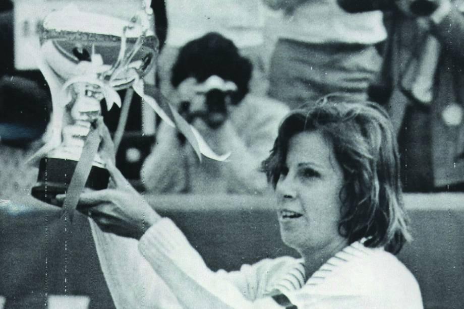 Maria Esther Bueno, a tenista brasileira que mais ganhou títulos internacionais nos anos 60 e 70 - 15/10/1974