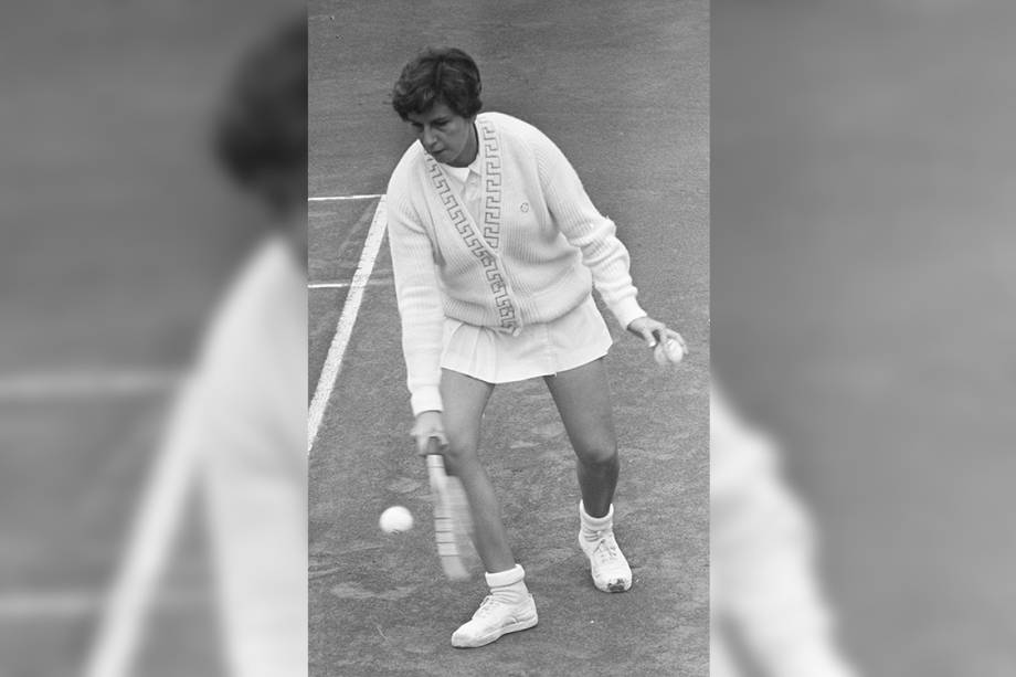 A tenista Maria Esther Bueno - 1964