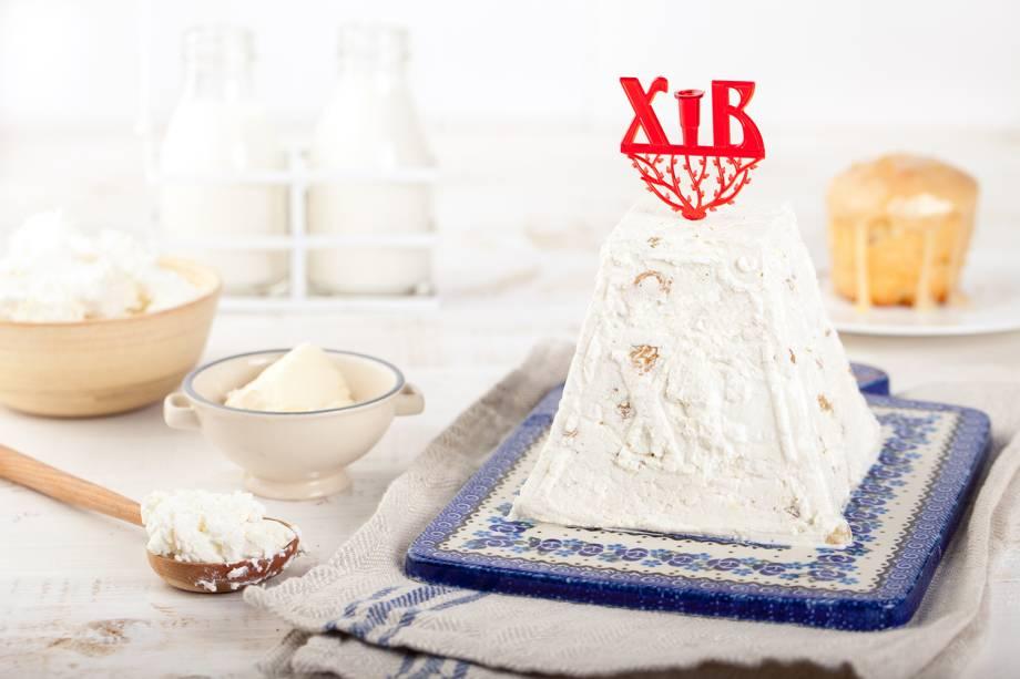 Pratos típicos da Rússia - Paskha