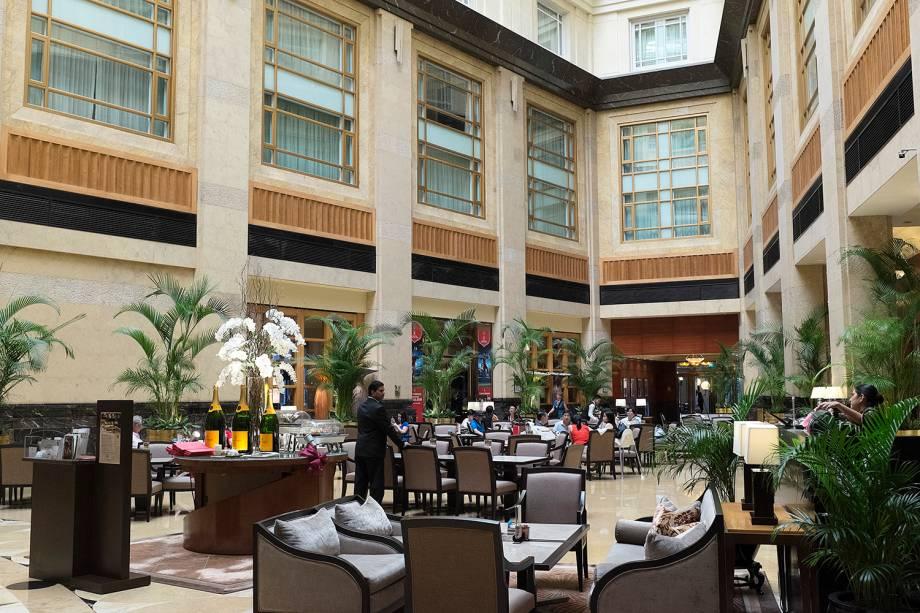 Área comum do Hotel Fullerton