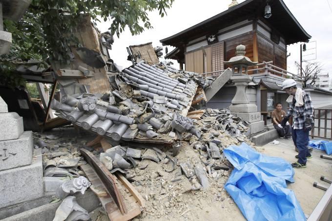 Terremoto atinge o oeste do Japão