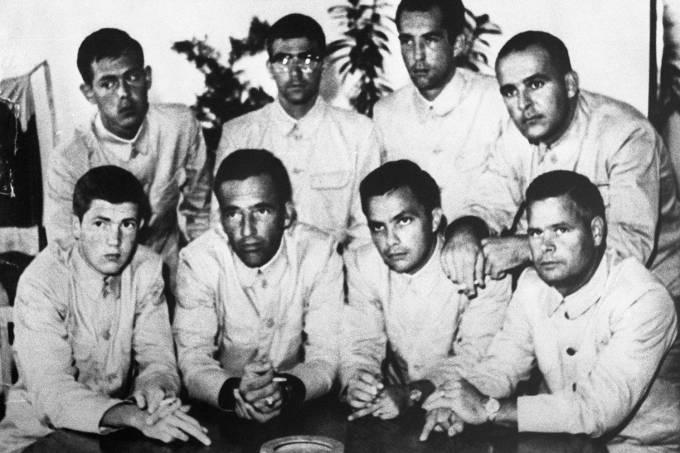 Tripulação do USS Pueblo