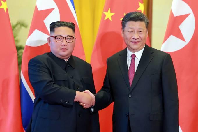 Kim Jong-un e Xi Jinping