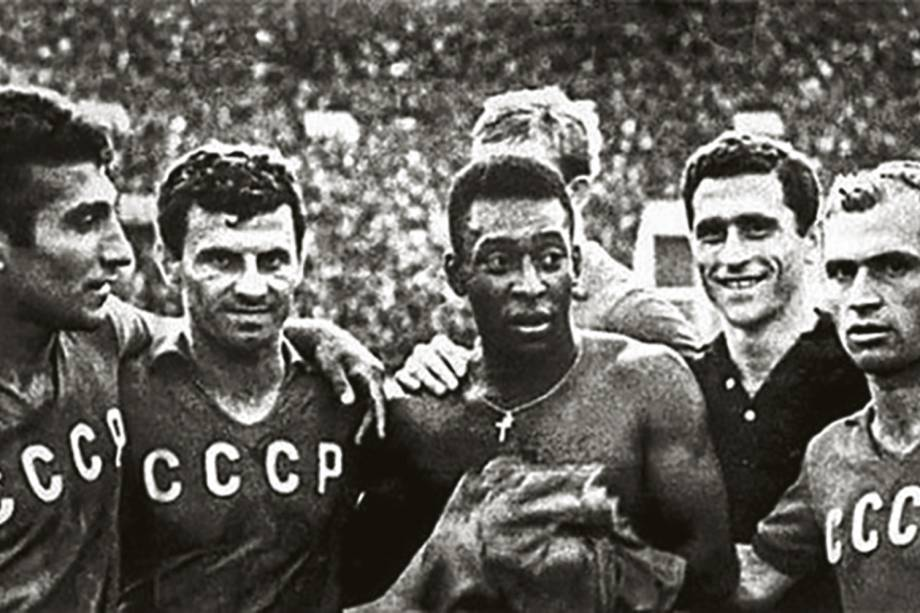 REI VERMELHO - Pelé e os soviéticos, respeito eterno