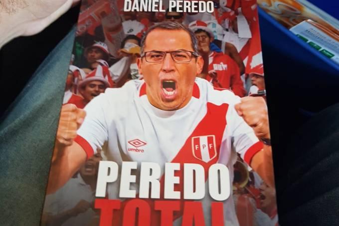 Livro de crônicas de Daniel Peeredo, ex-narrador peruano