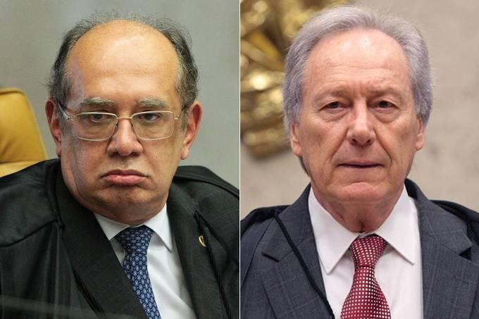 Gilmar Mendes e Ricardo Lewandowski