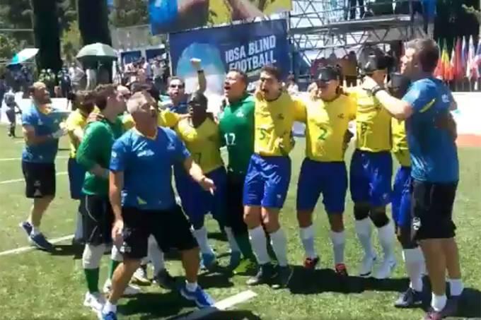 Brasil é pentacampeão do Futebol de 5