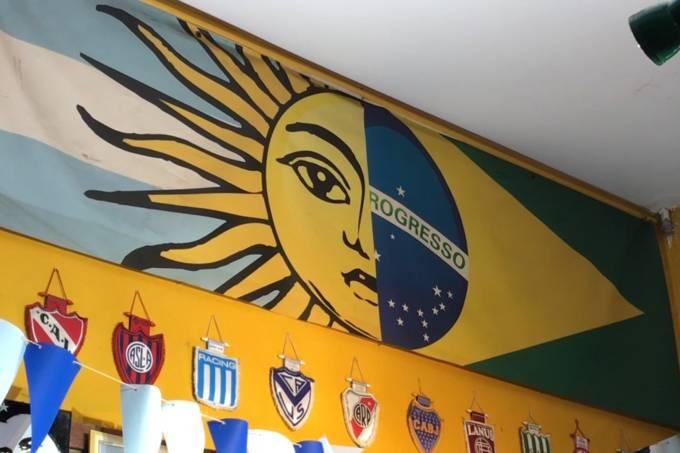 Decoração do Moocaires, bar argentino localizado na Mooca, na Zona Leste de São Paulo