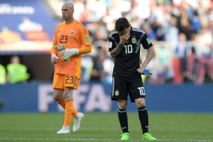 pênalti desperdiçado por Lionel Messi