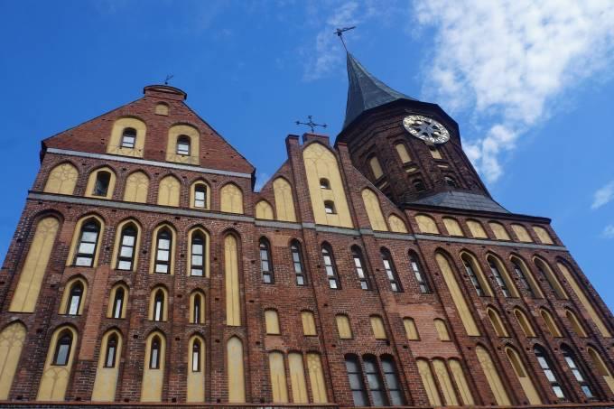 1. A catedral protestante de Königsberg-Kaliningrado