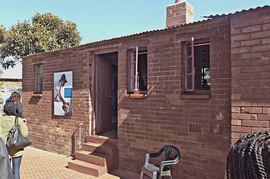 Casa de Nelson Mandela no Soweto, África do Sul