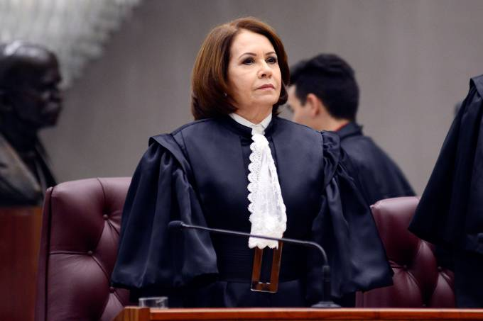 A presidente do Superior Tribunal de Justiça (STJ), Laurita Vaz