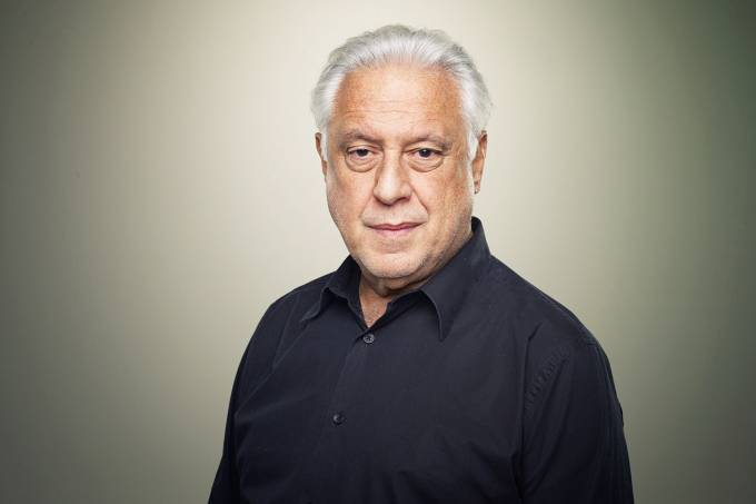 O ator Antônio Fagundes