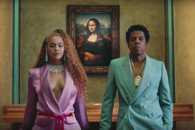 Beyoncé e Jay-Z dividem a cena com Mona Lisa, no Museu do Louvre, no clipe da música 'Apeshit'