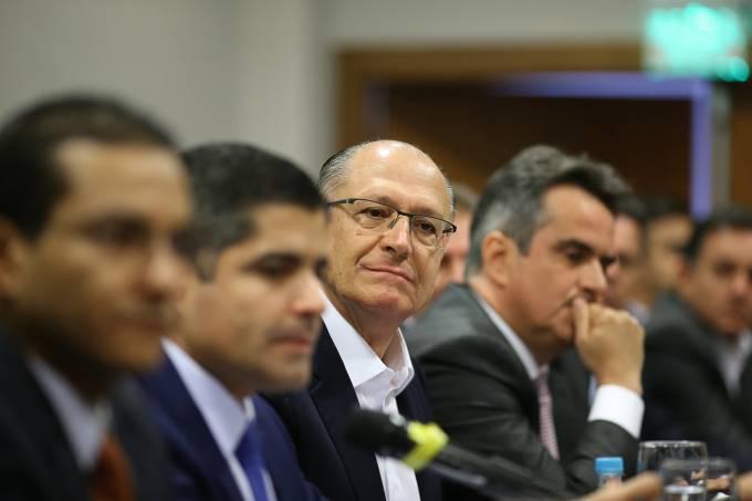 Centrão confirma aliança com Alckmin em Brasília