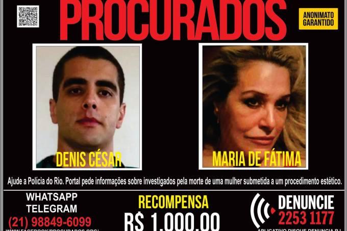 Denis Furtado e sua mãe Maria de Fátima