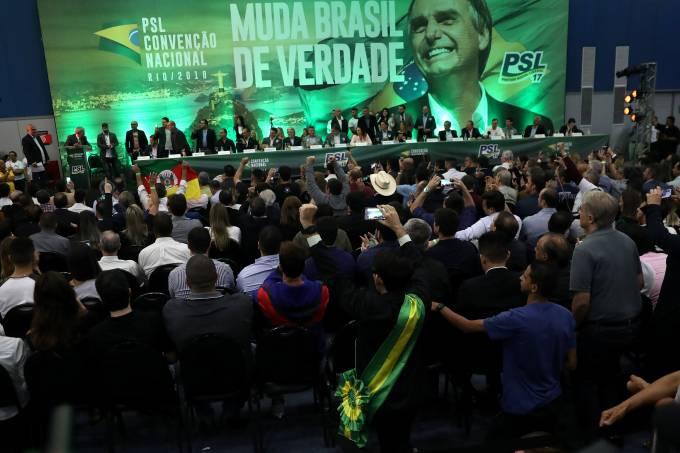 Convenção nacional do PSL