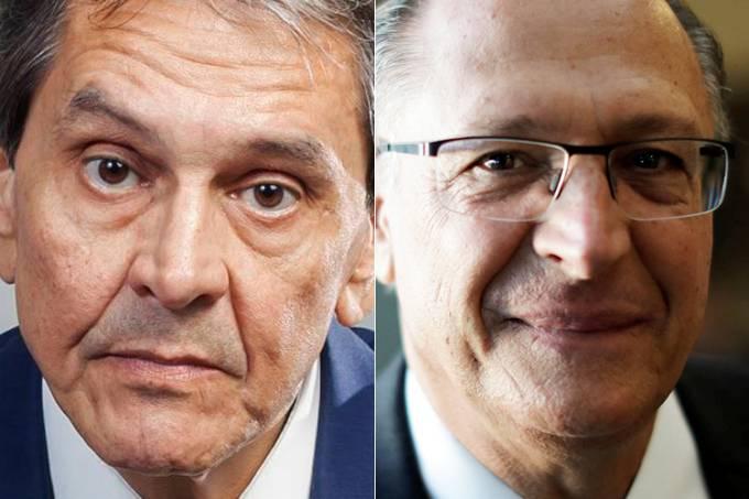 Roberto Jefferson e Geraldo Alckmin