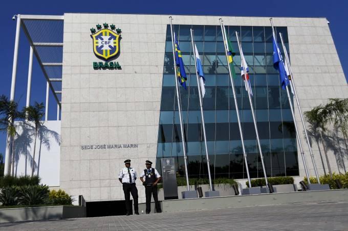 Sede da CBF, no Rio