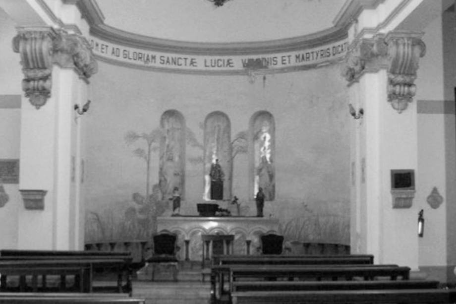 Capela de Santa Luzia, no antigo Hospital Matarazzo, que será transformado no complexo Cidade Matarazzo