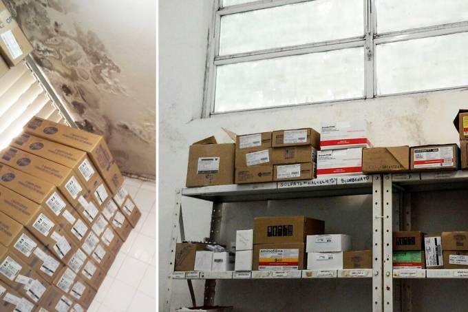 Irregularidades no armazenamento de medicamentos em SP