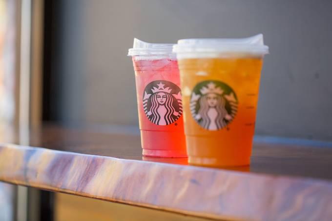 Novo design do copo da Starbucks