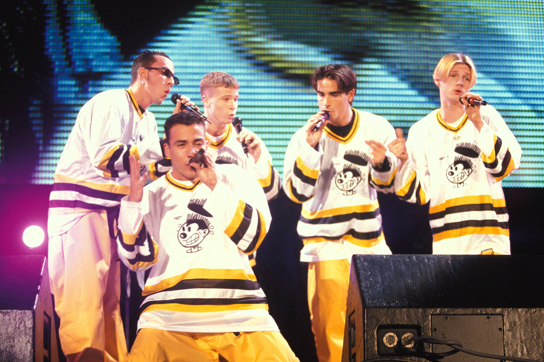 A boyband Backstreet Boys – 1995