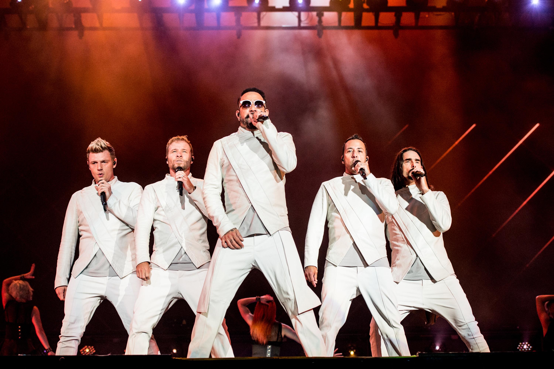A boyband Backstreet Boys se apresenta em Quebec, no Canadá – 09/07/2017