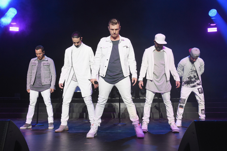 A boyband Backstreet Boys se apresenta na cidade de Wantagh, localizada em Nova York – 16/06/2018