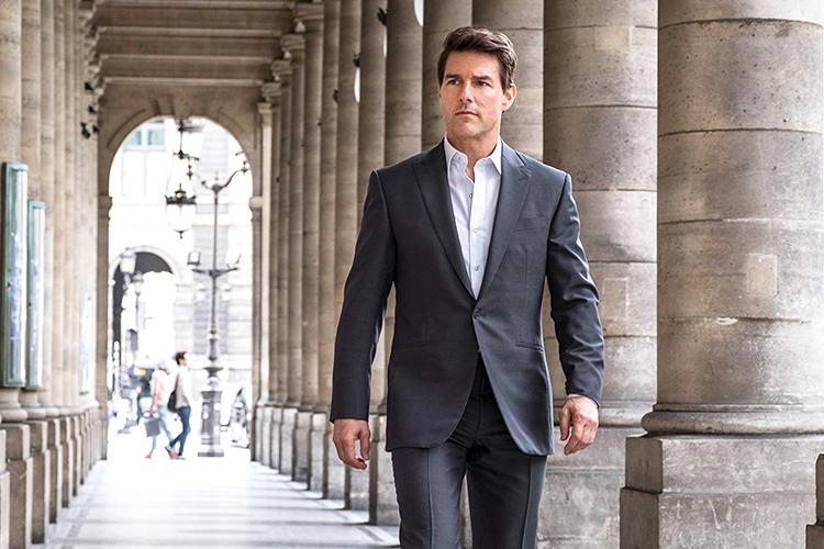 Tom Cruise durante cena do filme: 'Missão Impossível: Efeito Fallout'