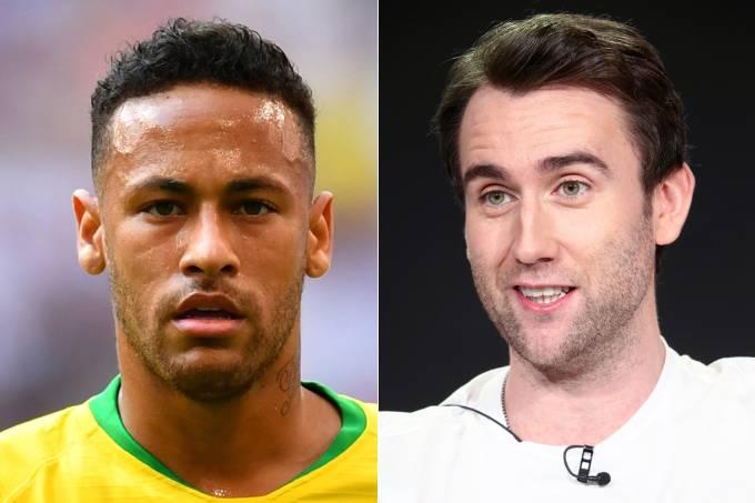 Neymar e Matthew Lewis