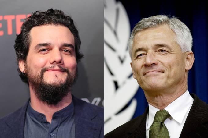 Wagner Moura e Sérgio Vieira de Mello