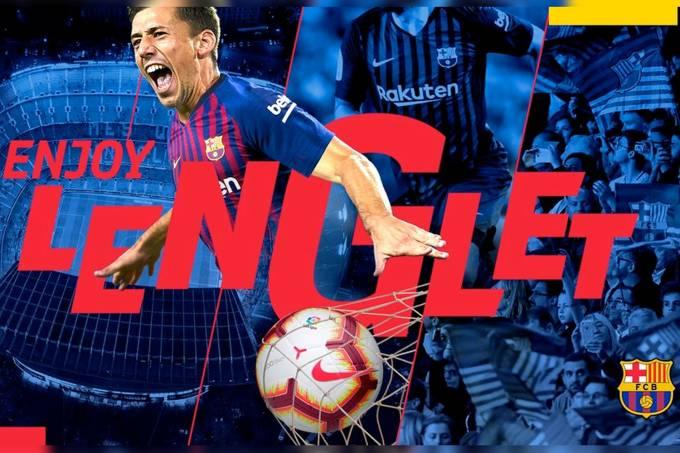 Clément Lenglet é contratado pelo Barcelona