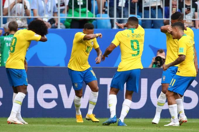 Copa do Mundo – Brasil x México