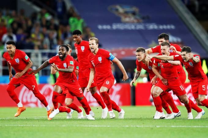 Copa do Mundo – Colômbia x Inglaterra