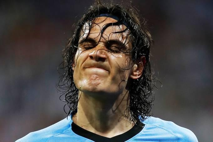 As expressões de jogadores na Copa do Mundo