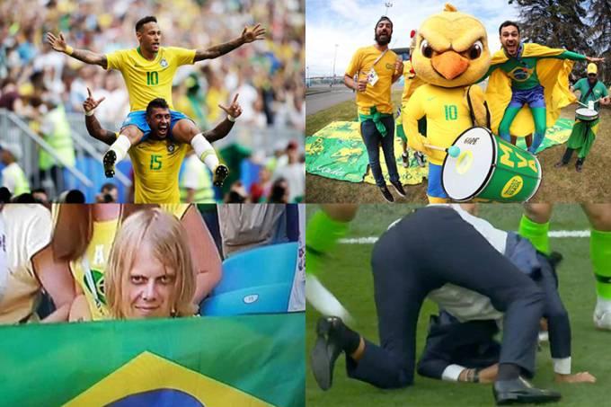 Os melhores momentos do Brasil na Copa do Mundo