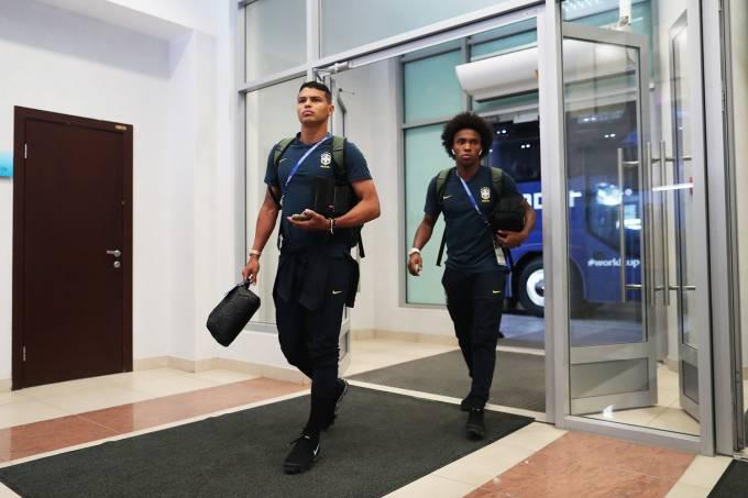 Seleção Brasileira começa a deixar hotel em Kazan