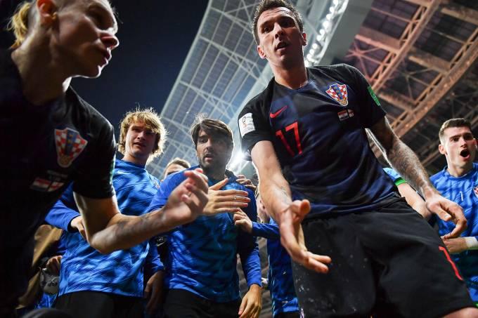 Copa do Mundo – Inglaterra x Croácia