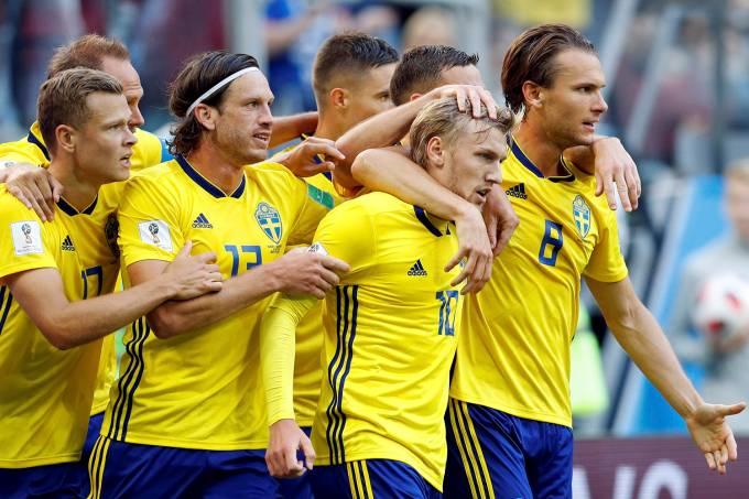 Copa do Mundo – Suécia x Suíça