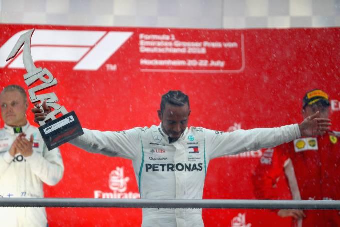 Hamilton vence GP da Alemanha